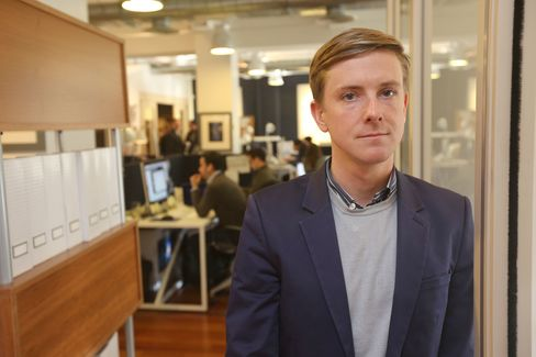 Chris Hughes, a Facebook founder, and owner of The New Republic magazine, in New York.