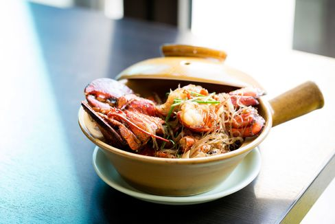 Lobster vermicelli is a signature dish at Yauatcha City.