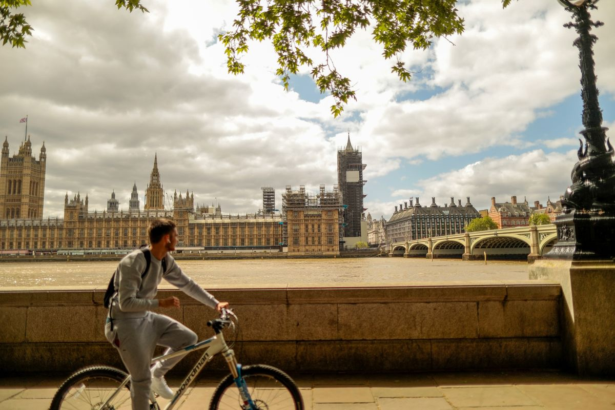 Londoners Jump on Bikes in Record Numbers as Restrictions Ease