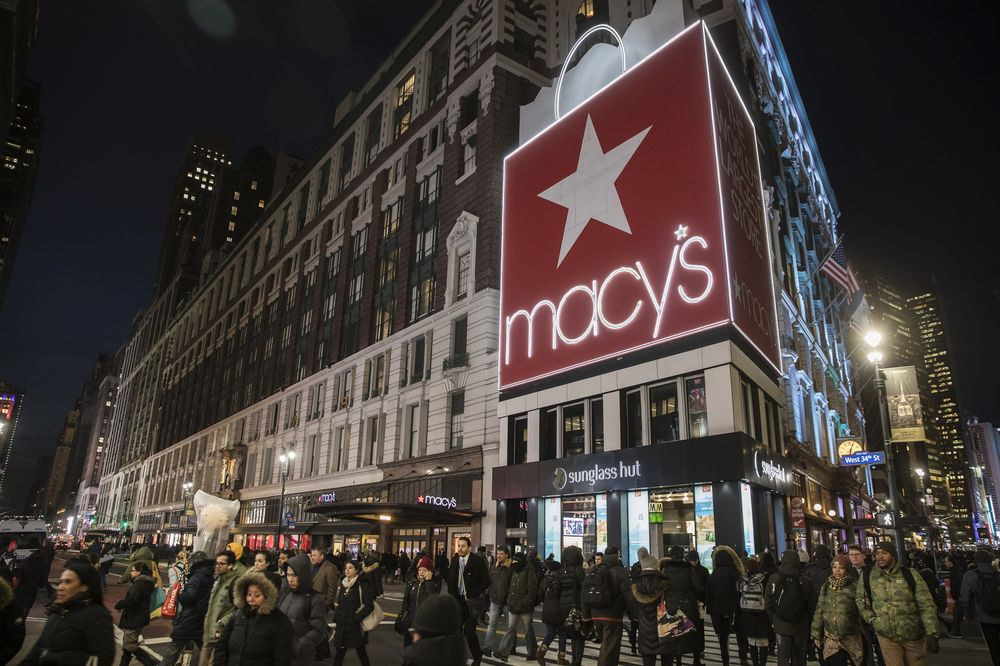 Macy S In Early Talks To Put Office Tower Atop Nyc Flagship Bloomberg