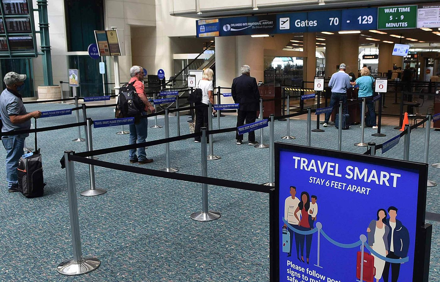 relates to TSA Struggles to Balance Virus With Security as Travel Rebounds