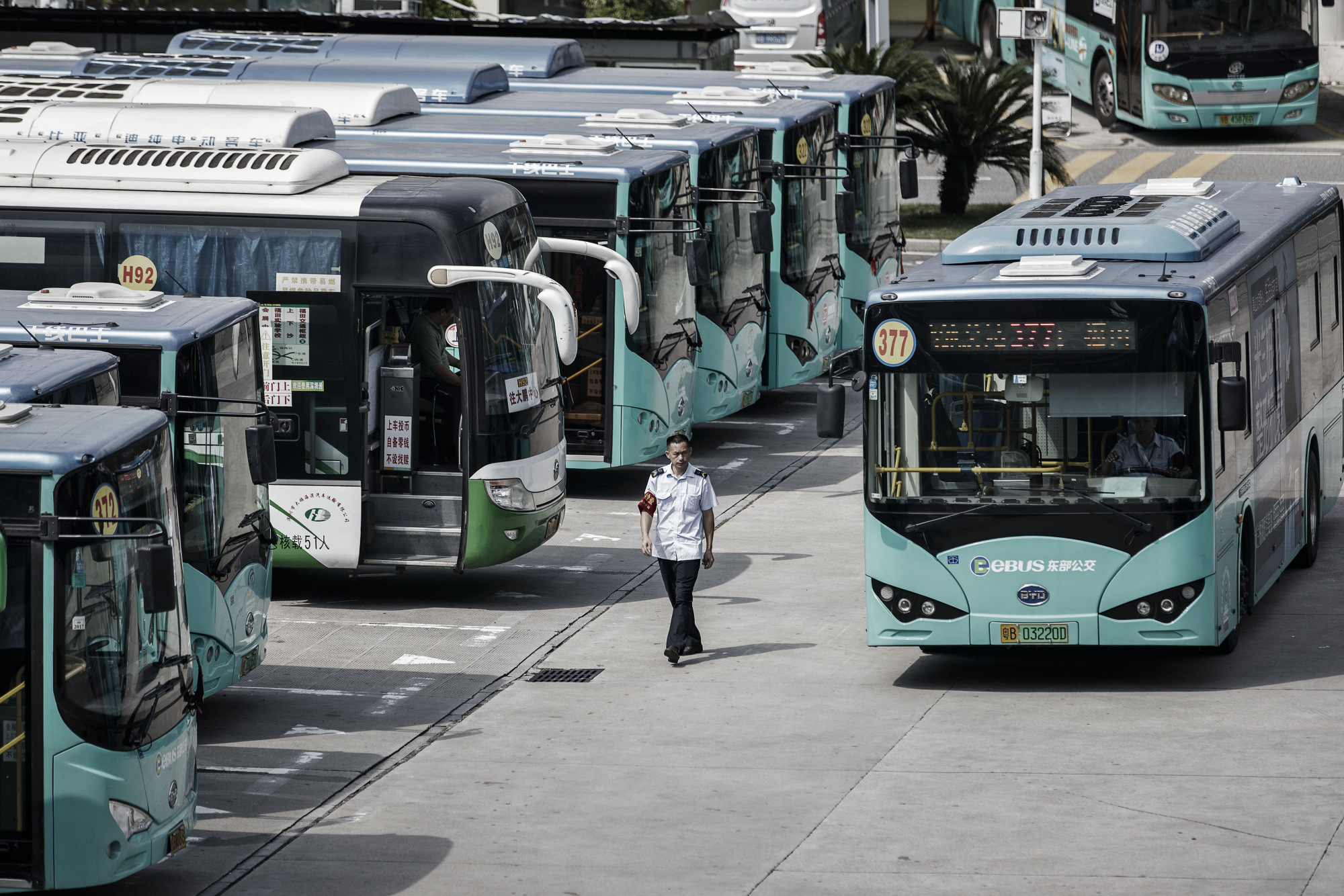 bloomberg.com - Alaric Nightingale - Forget Tesla, It's China's E-Buses That Are Denting Oil Demand