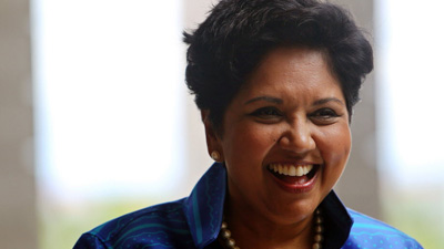 Indra Nooyi, chief executive officer of PepsiCo Inc.