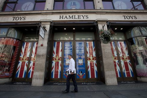 Olympics Hurt London Store Sales as Shoppers Stay Away From City