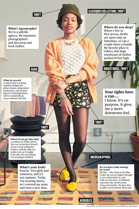 What I Wear to Work: Apostrophe's Nakeya Brown