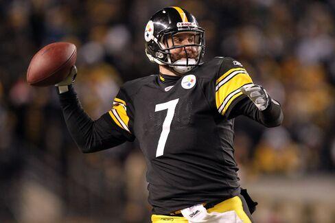 Ben Roethlisberger #7 of the Pittsburgh Steelers