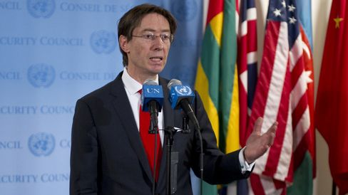 German Ambassador to the U.S. Peter Wittig
