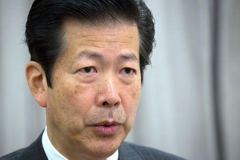 New Komeito Party Leader Natsuo Yamaguchi
