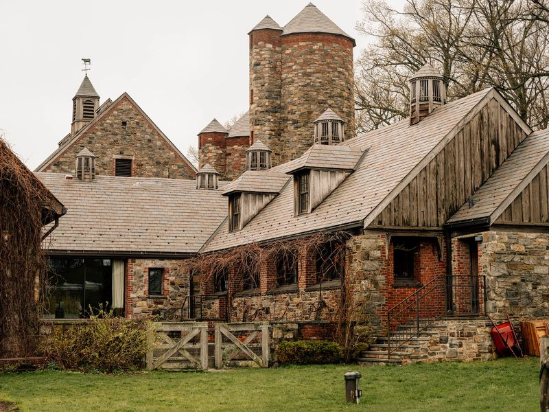 Blue Hill At Stone Barns In Tarrytown, New York.