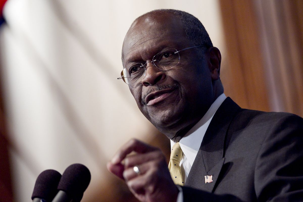 Herman Cain pulls out of consideration for Federal Reserve ...  |Herman Cain