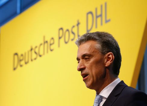 Deutsche Post AG Chief Executive Officer Frank Appel