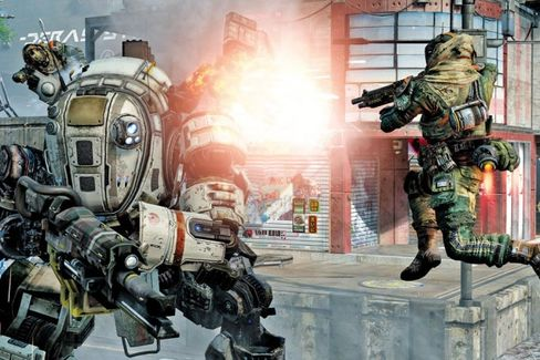 Microsoft Hopes Titanfall's Robots Can Save the Xbox One