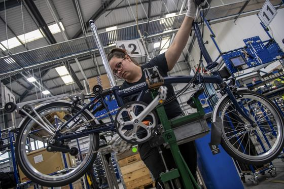 Brexit Sparks Battle on Chinese Bikes as U.K. Ends EU Levies