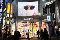 Shoppers in Shibuya As Japan Prices Rise at Fastest Pace Since May