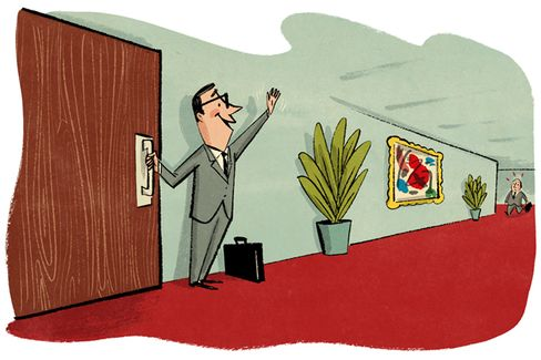 Is It Really So Hard to Hold the Office Door?