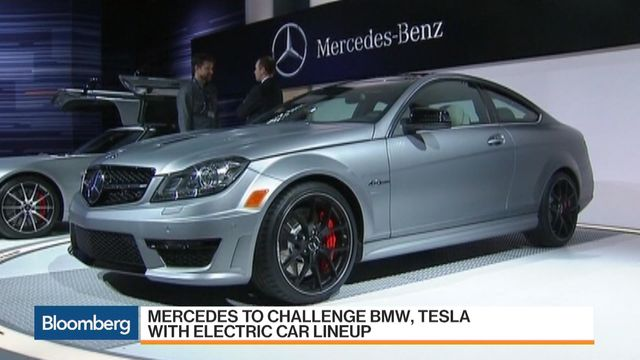 Mercedes Is About To Unveil An Entire Fleet Of Electric Vehicles