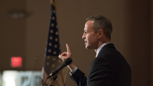 Potential Presidential Candiate Martin O'Malley Speaks At Scott County Democratic Dinner