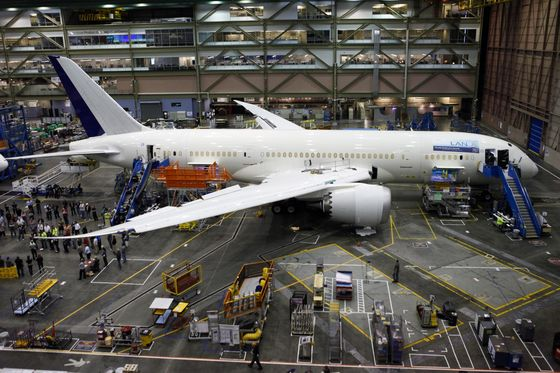 Boeing Drops as Role in Vetting Its Own Jets Comes Under Fire