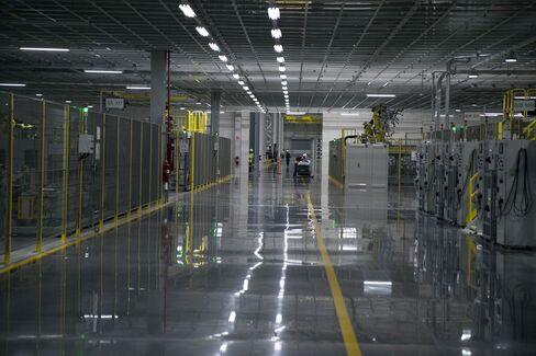 Construction At The $3 Billion Kia Motors Inc. Assembly Plant