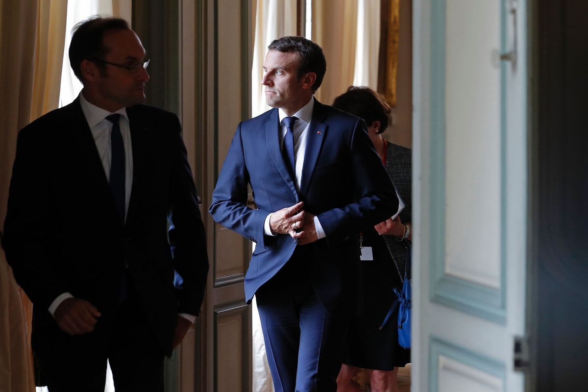 Macron Gets Down to Business in EU Tour to Curb Cheap Labor