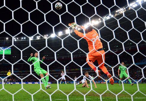 Algeria vs. Germany