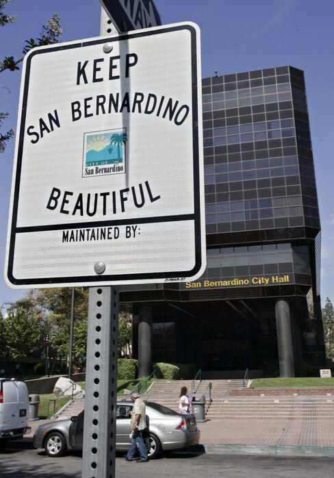 McDonald's Home Town Girds for Worst as San Bernardino Goes Bust