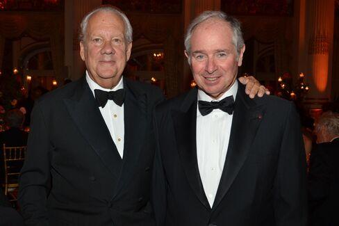 John Bernbach and Steve Schwarzman