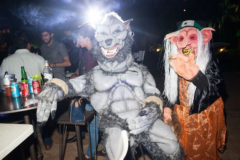 A Day of the Dead costume party in Oaxaca in 2015.