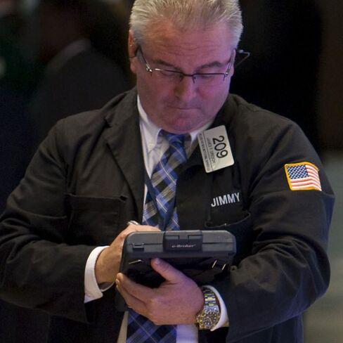 U.S. Stocks Halt Global Slump