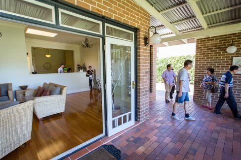 Prospective buyers in Sydney