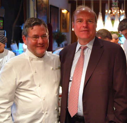 Charlie Trotter and Ray Harris