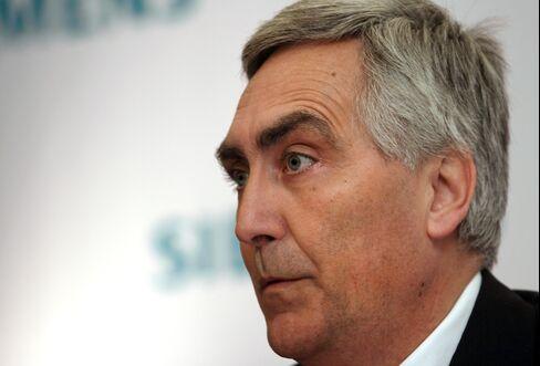 Siemens AG CEO Peter Loescher