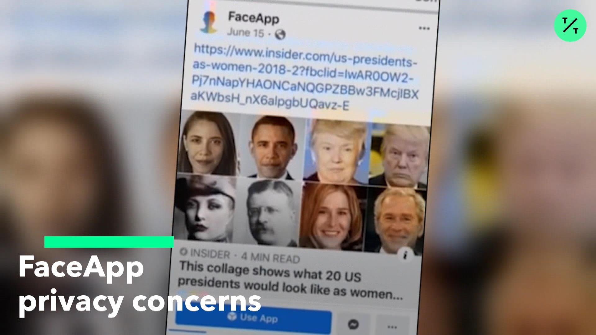 FaceApp Privacy Concerns