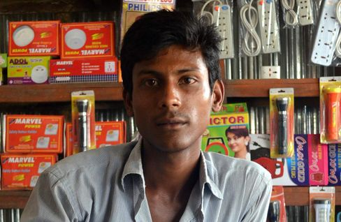Nazrul Islam, who took the nine-day journey in 2013, had no idea it'd be so bad. Photographer: Arun Devnath/Bloomberg