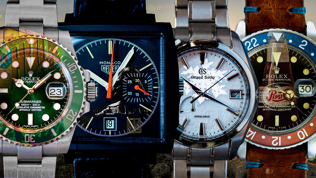 Pepsi, Dark Lord, and Disco Volante: Do You Know These Famous Watches?