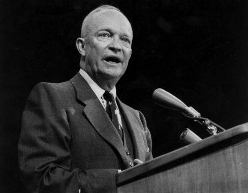 Late U.S. President Dwight D. Eisenhower