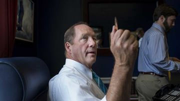 Representative Ted Yoho is pictured in his office on Capitol Hill on Oct. 3, 2013.