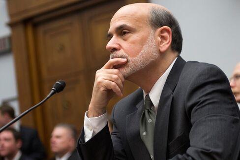 Ben Bernanke Is a Dove Because Congress Isn't