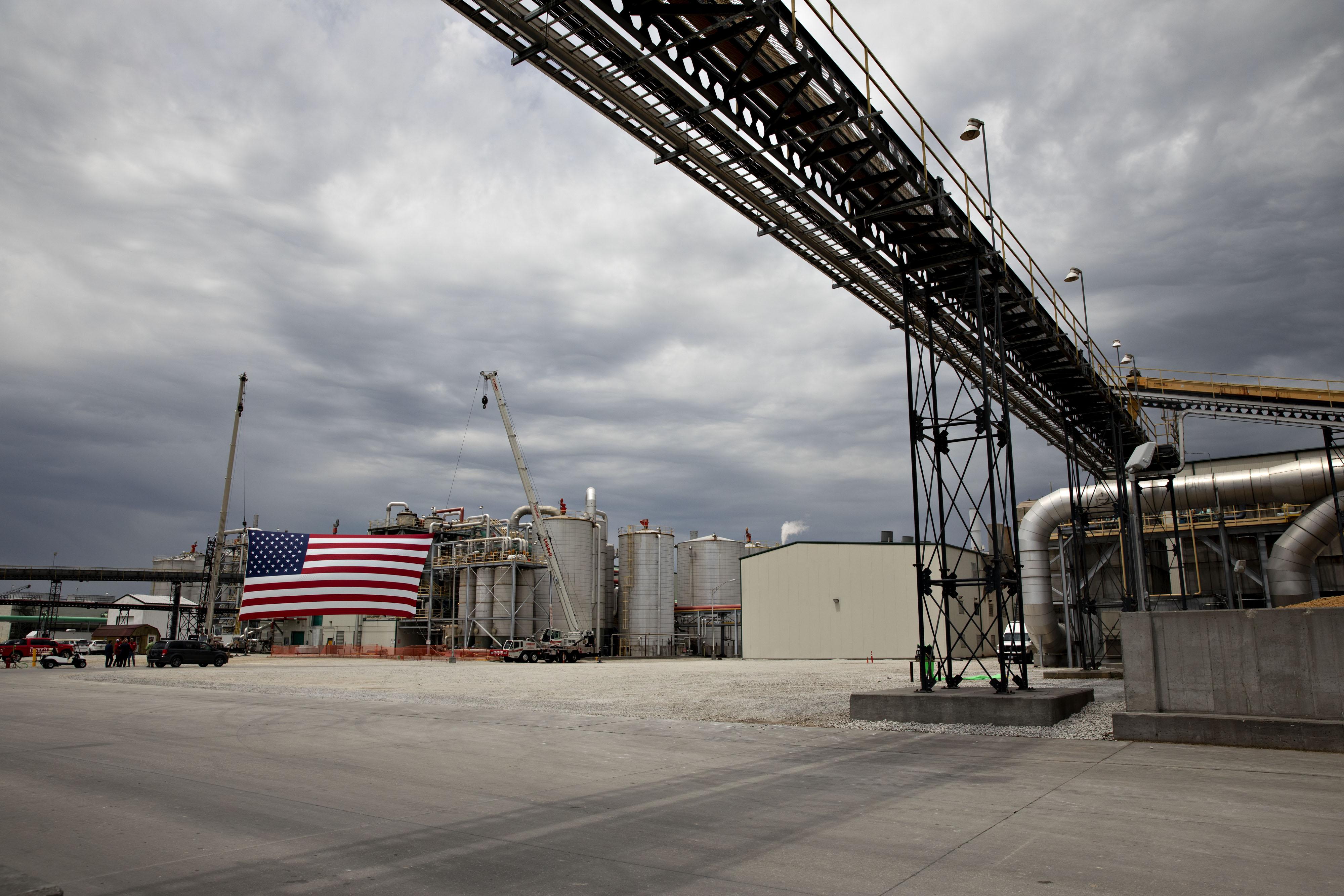 An ethanol facility in Council Bluffs, Iowa.