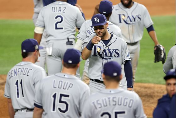 In Dodgers-Rays World Series, Tampa Is Goliath of Cheap Talent