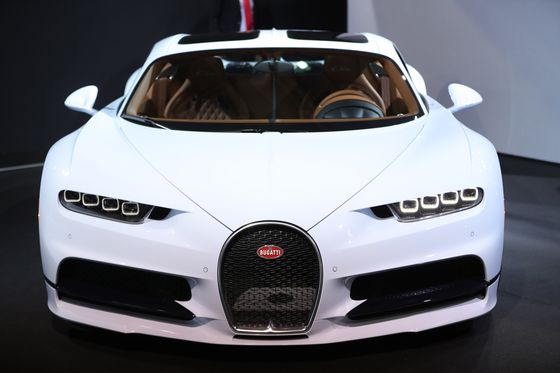 Bugatti in Funding Search for 4-Seater Stablemate to Chiron