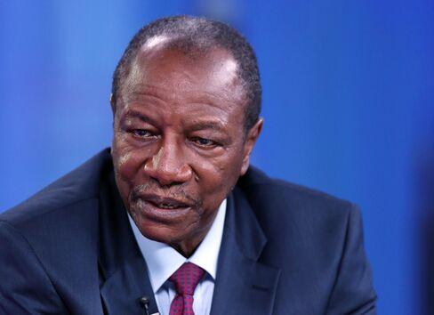 Guinea President Alpha Conde