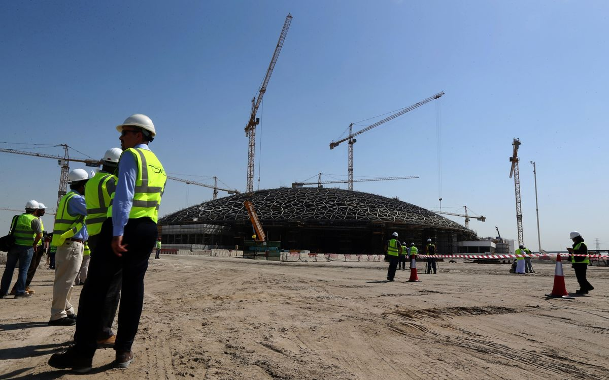 Abu Dhabi's Plowing Ahead With These 10 Mega Projects During an Oil Slump