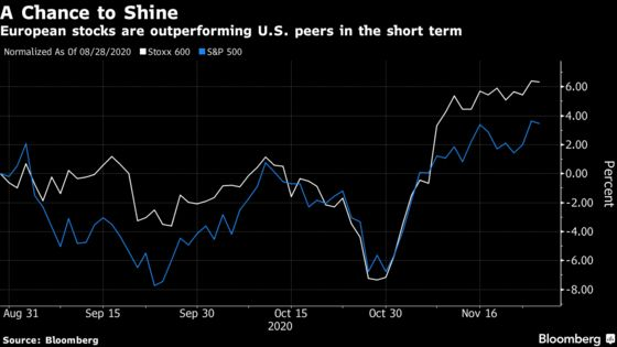 European Stocks Are Little Changed as Value Shares Lead Declines