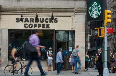 A Starbucks Corp. Location Ahead Of Earnings Figures