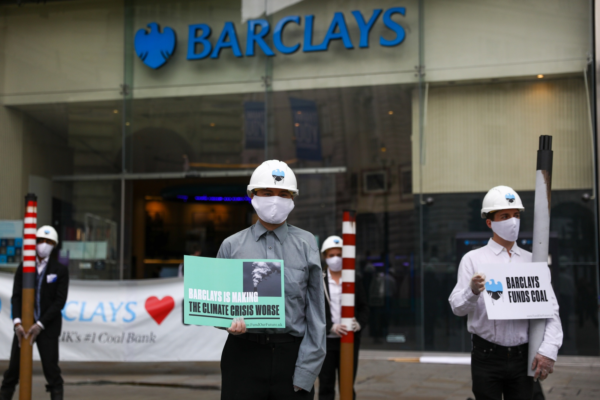 Climate Activists TargetBarclaysPlc Over Coal Investments