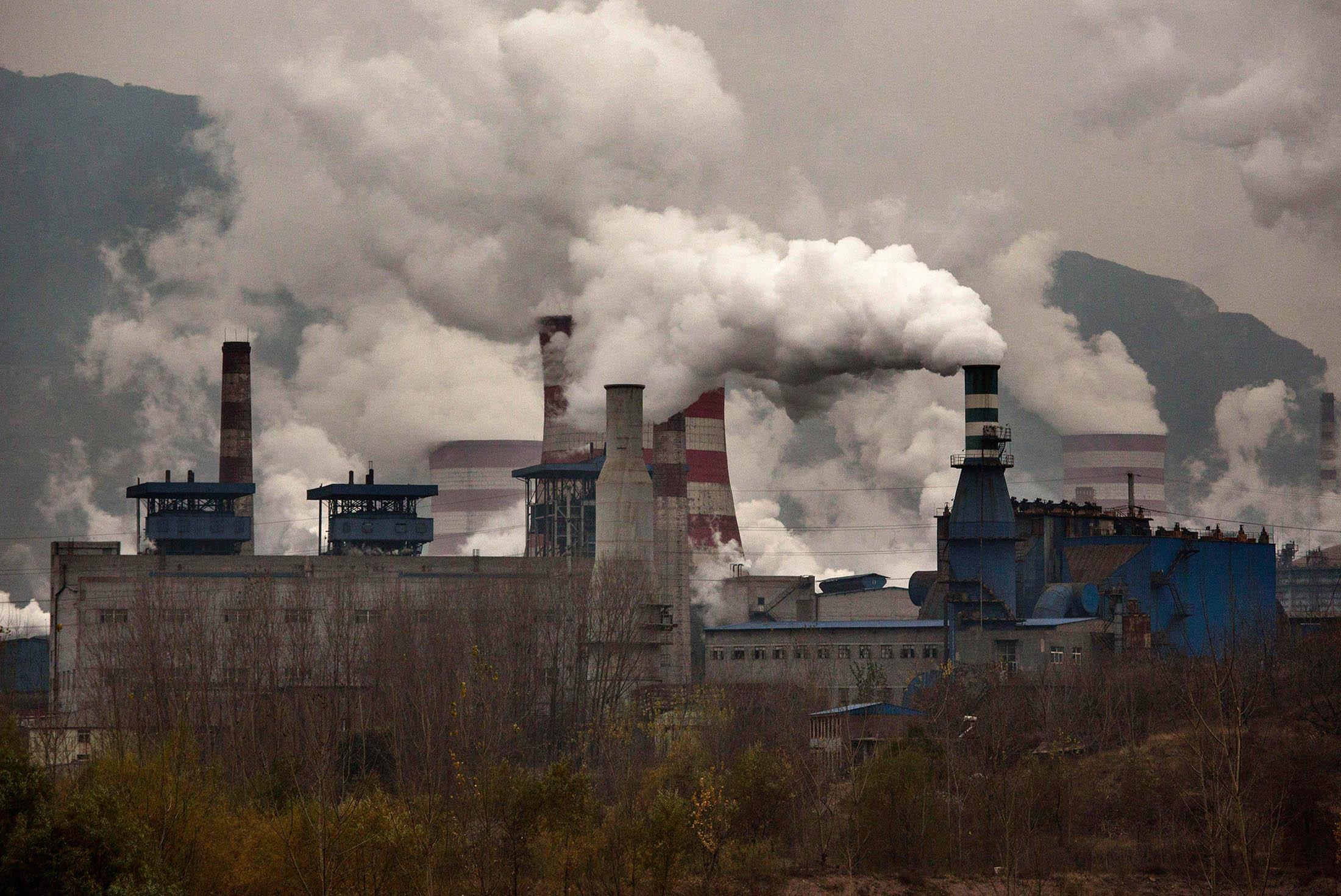 North China City Halts Pharma Steel Plants To Curb
