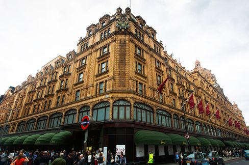 Harrods Aims for All Things for All People: Retail