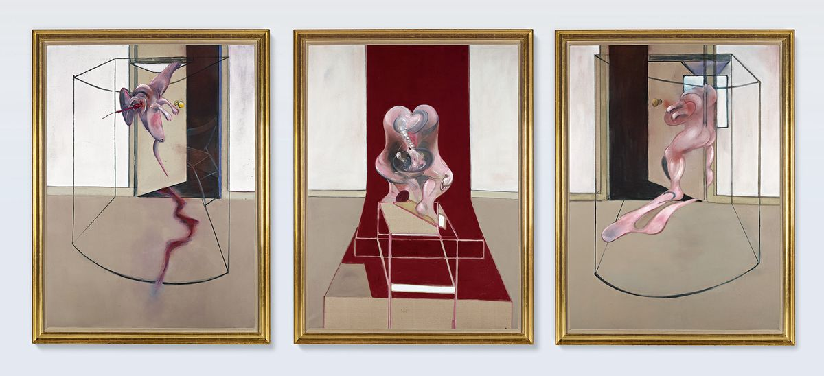 Bacon Triptych Sells For $84.6 Million, Boosting Art Market
