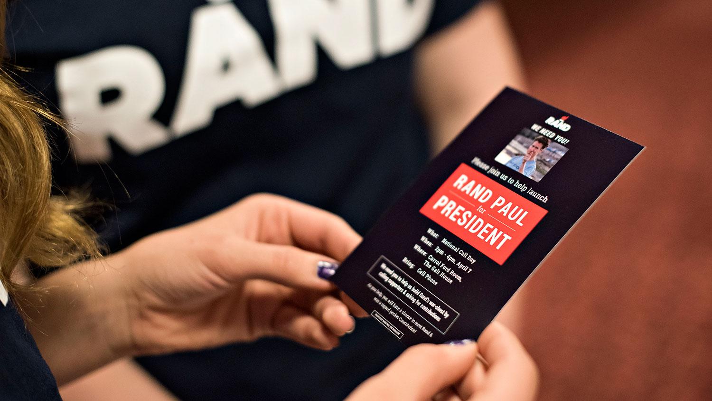 'Rand Paul for President'